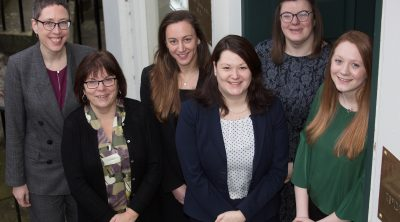 New team members at Gibson Kerr solicitors in Edinburgh